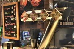 Bar espagnol Image stock