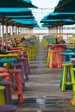 Bar et gril tropicaux Image libre de droits