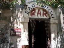 Bar Vitelli. Bar from film Godfather Royalty Free Stock Photo