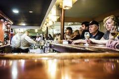 Bar geopende 24h in Melia Las Duna Resort in Cuba Royalty-vrije Stock Fotografie