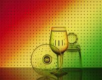 Bar glassware Stock Image