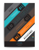 Bar gradient abstract vector background. Vector illustration. Can use for brochure cover Royalty Free Stock Images