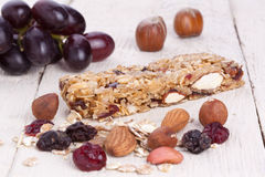 bar granola Arkivfoton