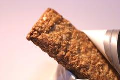 bar granola makro Zdjęcie Royalty Free