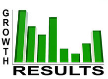 Bar Graph 5. An image of a regular bar graph,giving statistical business information Stock Photography