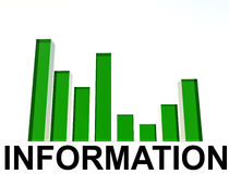 Bar Graph 6. An image of a regular bar graph,giving statistical business information Royalty Free Stock Photos