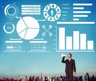 Bar Graph Chart Data Information Inforgraphic Report Concept Stock Image