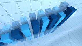 Bar graph stock footage