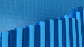 Bar graph stock video