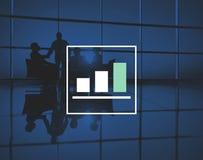 Bar Graph Marketing Analyzing Growth Increase Concept Stock Photos