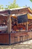 Bar hams at the fair Royalty Free Stock Photos