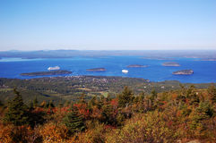 Bar Harbor, Acadia National Park Stock Image