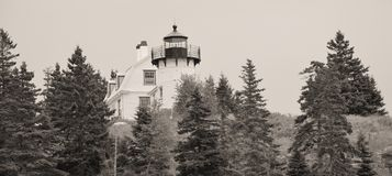 Bar Harbor Light House Royalty Free Stock Photo