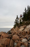 Bar Harbor Light Royalty Free Stock Photography