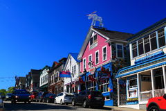 Bar Harbor Main Street Royalty Free Stock Photo