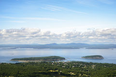 Bar Harbor, Maine and Islands. Royalty Free Stock Photos