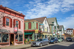 Bar Harbor in Maine Stock Photography