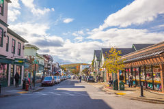 Bar Harbor in Maine Stock Photos