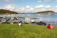Bar Harbor, Mount Desert Island, Maine, USA Stock Photography
