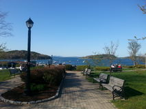 Bar Harbor Park Royalty Free Stock Images