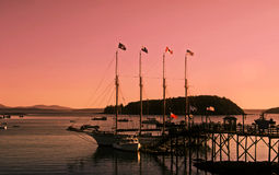Bar Harbor's Daybreak Royalty Free Stock Photos