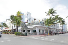 Bar humide Miami Beach de Willies Photo stock