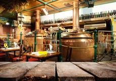 Bar i Prague royaltyfri bild