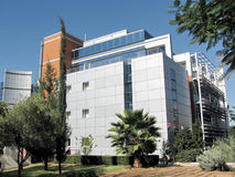 Bar-Ilan University the Katz building 2009 Royalty Free Stock Photos