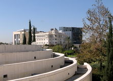Bar-Ilan University Psychology building 2009 Stock Photo