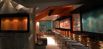 Bar intérieur Photos stock