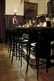 Bar interior. Picture of modern bar interior Royalty Free Stock Photo