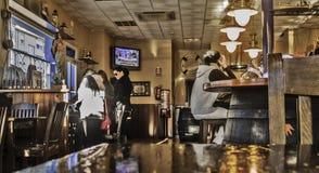 Bar interior in Merida Royalty Free Stock Photography