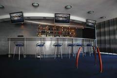 Bar Interior With Round Counter Stock Photos