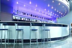 bar interioren royaltyfri fotografi