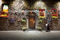 Bar irlandais historique Images libres de droits