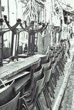 Bar in Jaffa Stock Photo