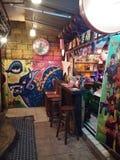 Bar khaosan road. Bankok thailand nightlife tourism Stock Images