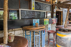 Bar Les Racines in Durbuy. Stock Images