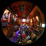 Bar in Malaysia. A fish eye photo of a popular bar in Kuala Lumpur, Malaysia stock photos