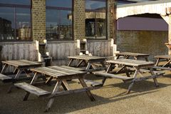 Bar on Margate harbour. Kent. England Royalty Free Stock Photography