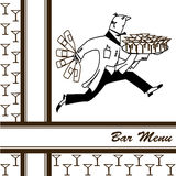 Bar menu Royalty Free Stock Photography