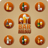 Bar menu icon Stock Photography