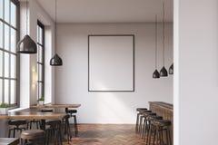 Bar met affiche vector illustratie