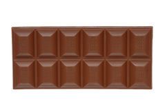 Bar of milk chocolate stock images