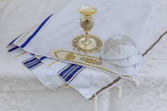Bar Mitzhvah jewish religious symbol Royalty Free Stock Image