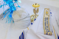 Bar Mitzhvah jewish religious symbol Stock Photos
