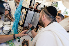 Bar Mitzvah ritual at the Wailing Wall Stock Photography