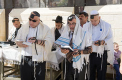 Bar Mitzvah ritual at the Wailing Wall Stock Photo