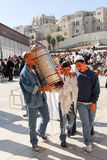 Bar Mitzvah at Western Wall, Jerusalem Royalty Free Stock Image