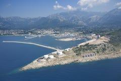 Bar,Montenegro. Port of Bar, Montenegro coast Royalty Free Stock Photos